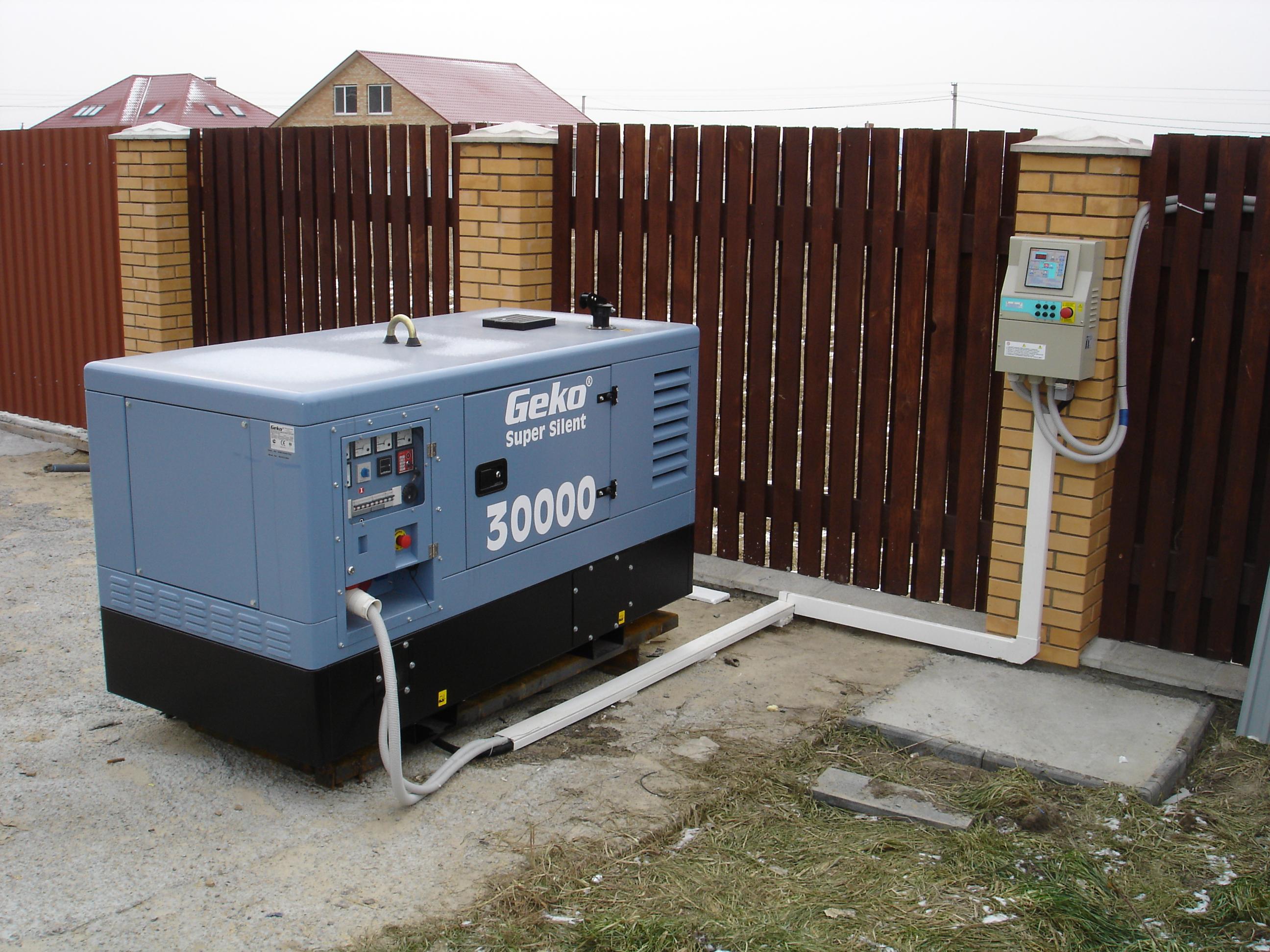 резервный генератор