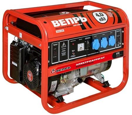 Генератор бензиновый вепрь 4 квт бензиновый генератор макита